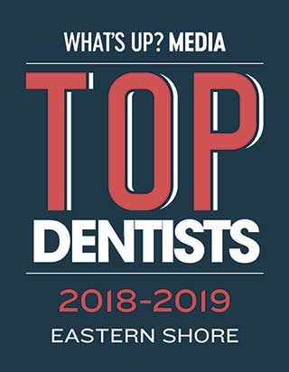 Top Dentist 2018 through 2019